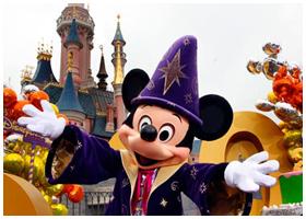 Parques temáticos Europeus | Disneylandia